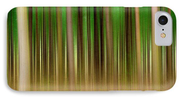 Forest Abstract04 Phone Case by Svetlana Sewell
