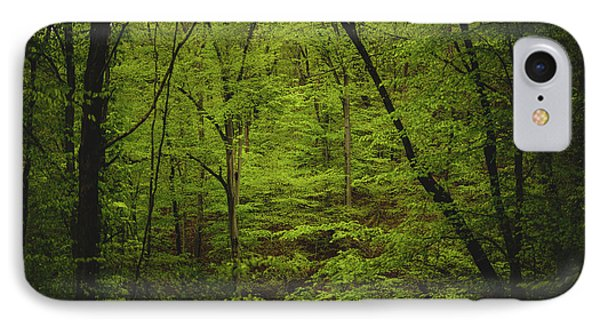 IPhone Case featuring the photograph Forest Beckons by Shane Holsclaw