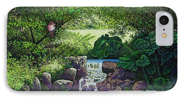 Forest Brook Iv IPhone Case by Michael Frank