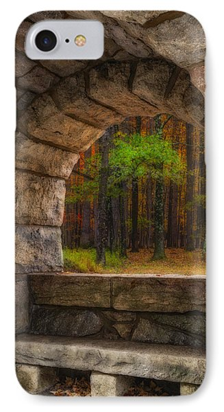 Forest Contemplation Invite IPhone Case by Susan Candelario