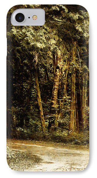 Forest Curve IPhone Case