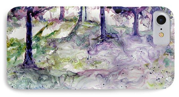 Forest Fantasy IPhone Case by Jan Bennicoff