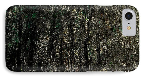 Forest For The Trees IPhone Case by Rick Maxwell