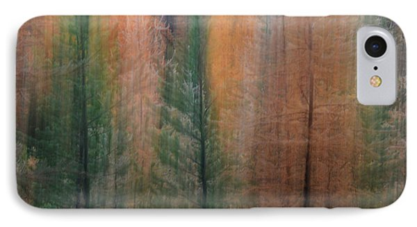 Forest Illusion- Autumn Born IPhone Case