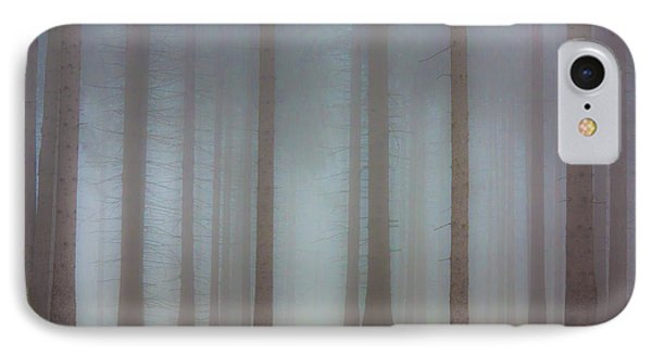 Forest In The Fog IPhone Case by Michal Boubin