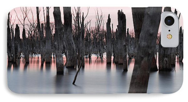 Forest In The Water IPhone Case by Jennifer Ancker