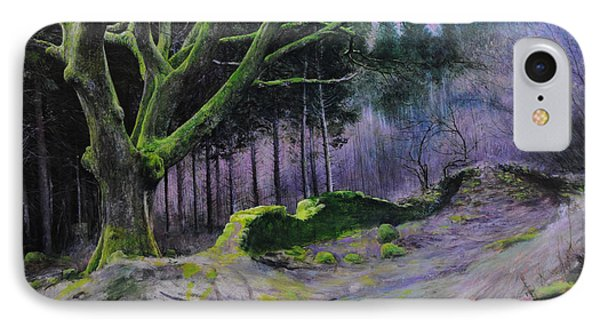 Forest In Wales IPhone Case