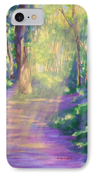 Forest Light IPhone Case by Becky Chappell