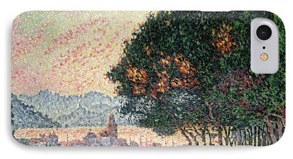 Forest Near St Tropez Phone Case by Paul Signac