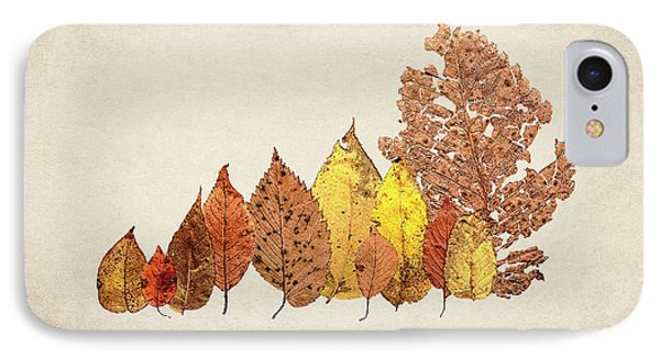 Forest Of Autumn Leaves II IPhone Case by Tom Mc Nemar