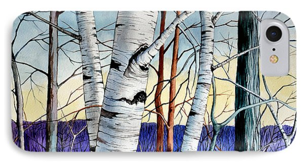 Forest Of Trees IPhone Case