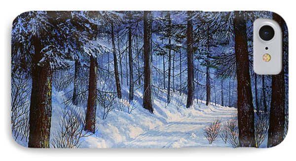 Forest Road IPhone Case by Frank Wilson