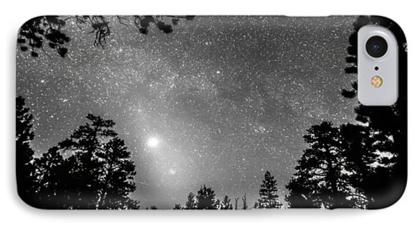 Forest Silhouettes Constellation Astronomy Gazing Phone Case by James BO  Insogna
