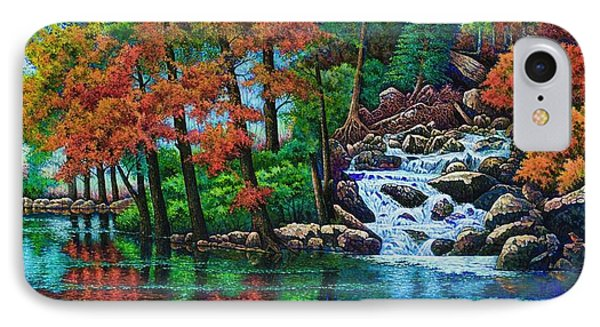 Forest Stream II IPhone Case