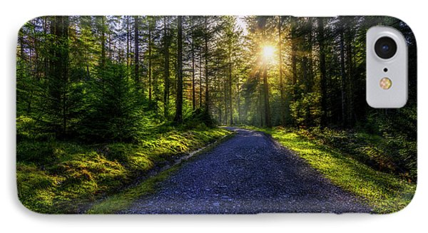 IPhone Case featuring the photograph Forest Sunlight by Ian Mitchell