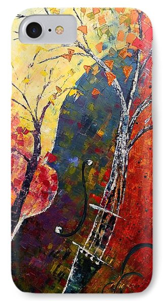 Forest Symphony IPhone Case by AmaS Art