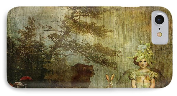 Forest Wonderland IPhone Case by Diana Boyd