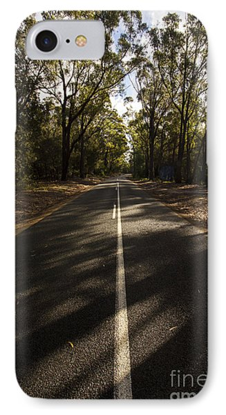 Forestry Road Landscape IPhone Case