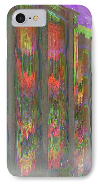 IPhone Case featuring the digital art Forests Of The Night by Wendy J St Christopher
