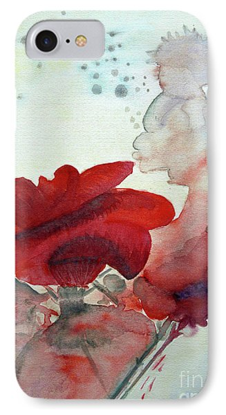 IPhone Case featuring the painting Forever by Jasna Dragun
