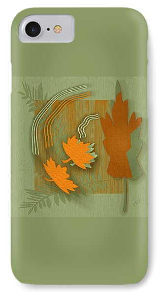 Forever Leaves IPhone Case by Ben and Raisa Gertsberg
