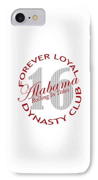 IPhone Case featuring the digital art Forever Loyal Dynasty Club by Greg Sharpe