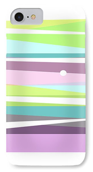 Forever Spring Abstract Art IPhone Case by Ann Powell