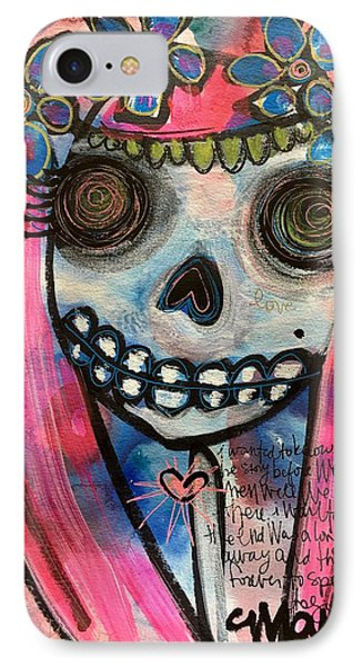 IPhone Case featuring the painting Forever With You by Laurie Maves ART