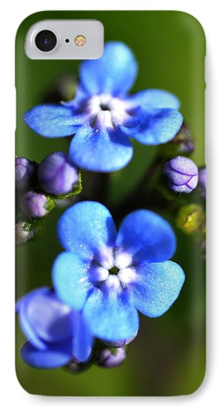 Forget-me-not Phone Case by Noah Cole