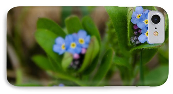 Forget Me Not Softly IPhone Case