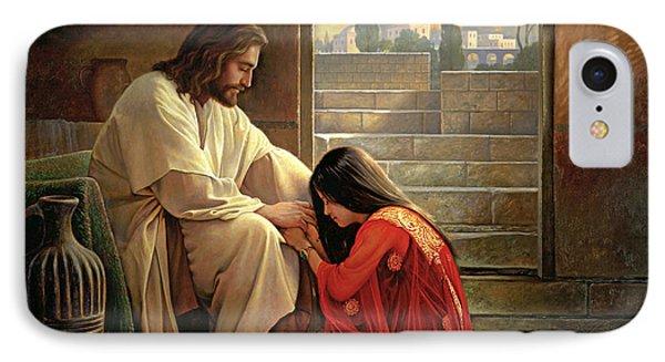 Jesus iPhone 7 Case - Forgiven by Greg Olsen