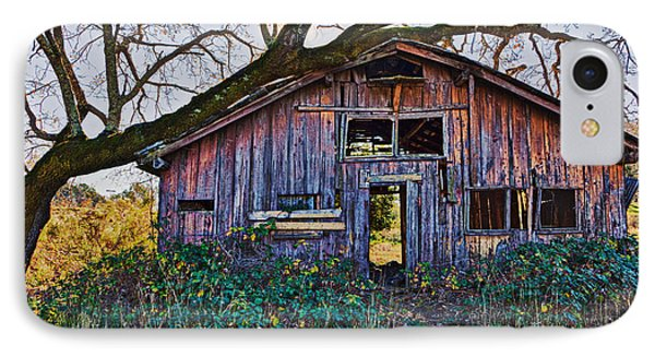 Forgotten Barn IPhone Case by Garry Gay
