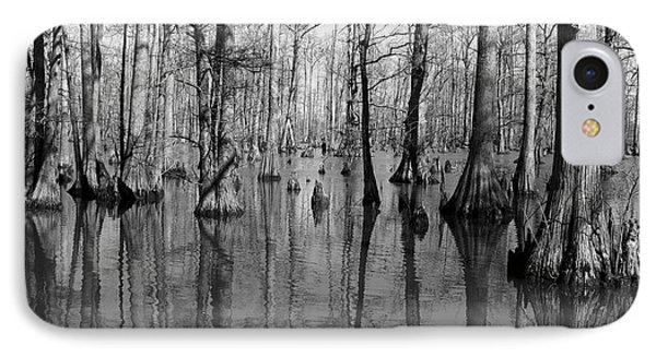 Forgotten - Black And White Art Print IPhone Case