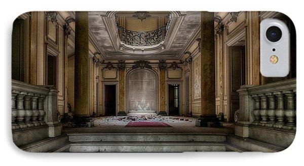 Forgotten Chateau IPhone Case by Joachim G Pinkawa