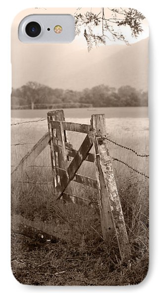 Forgotten Fields 2 IPhone Case by Holly Kempe
