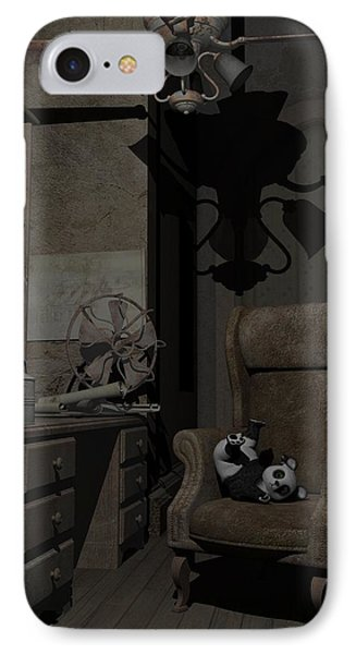 Forgotten Friend IPhone Case by Sipo Liimatainen
