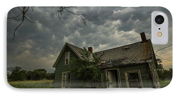 IPhone Case featuring the photograph Forgotten Mammatus  by Aaron J Groen