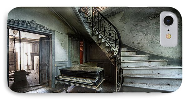 The Sound Of Decay - Abandoned Piano IPhone Case by Dirk Ercken