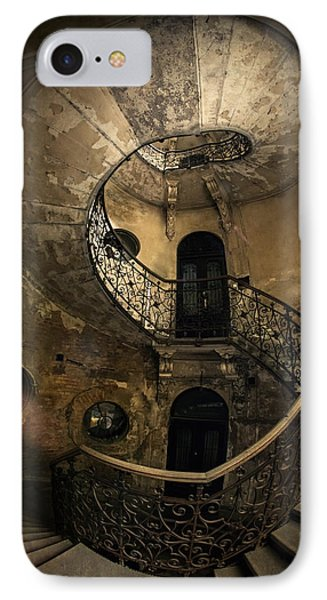 Forgotten Staircase IPhone Case by Jaroslaw Blaminsky