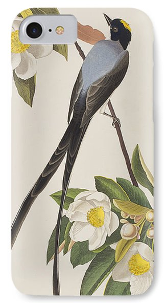 Fork-tailed Flycatcher  IPhone 7 Case by John James Audubon