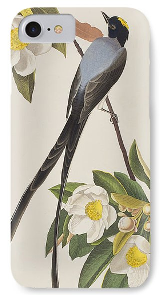 Fork-tailed Flycatcher  IPhone Case by John James Audubon