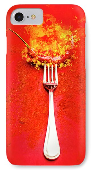 Forking Hot Food IPhone Case