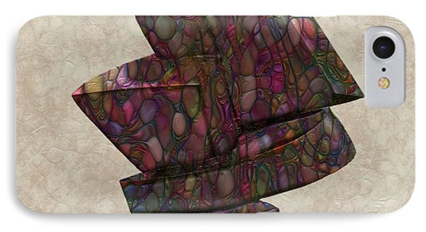 Form Sculpture IPhone Case by Jack Zulli