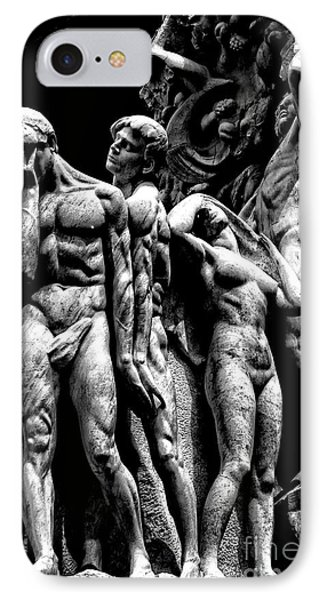 IPhone Case featuring the photograph Forms In Marble by Paul W Faust - Impressions of Light