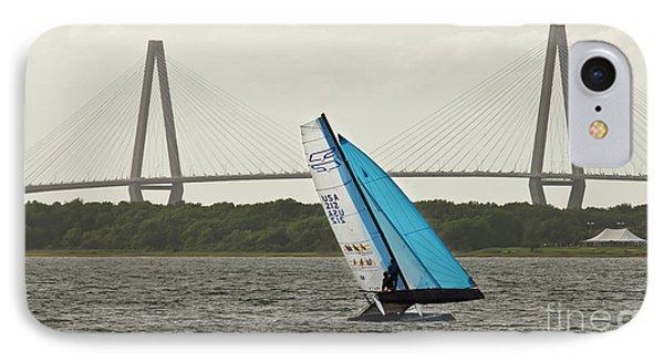 Formula 18 Sailing Cat Big Booty Charleston Sc IPhone Case