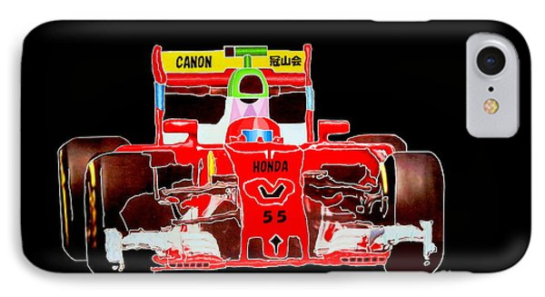 Formula One Car By Taikan IPhone Case