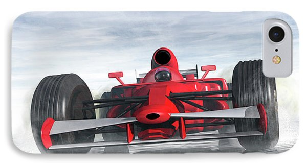 Formula One Racer Phone Case by Carol and Mike Werner