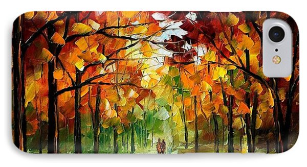 Forrest Of Dreams Phone Case by Leonid Afremov