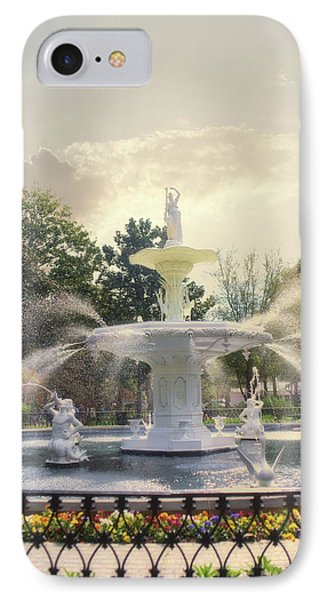 Forsyth Park Fountain - Savannah IPhone Case