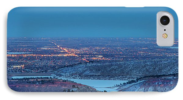 Fort Collins Nightscape IPhone Case